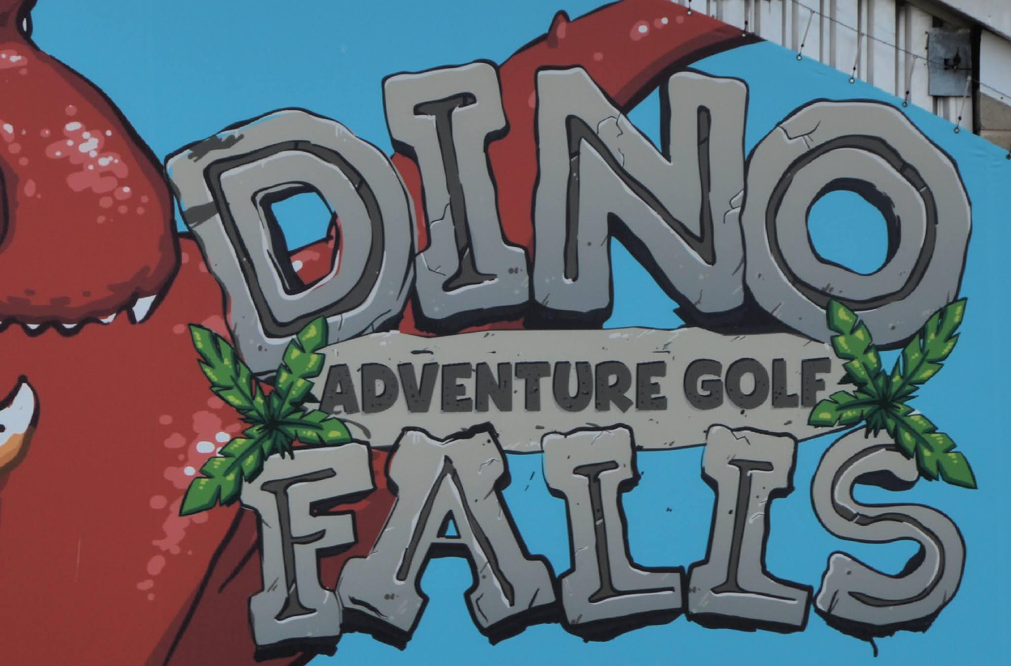 Dino Falls sign