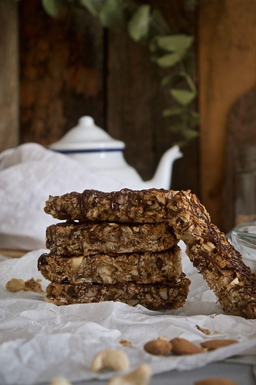 barritas-de-cereales-y-frutos-secos-saludables-sin-azúcar