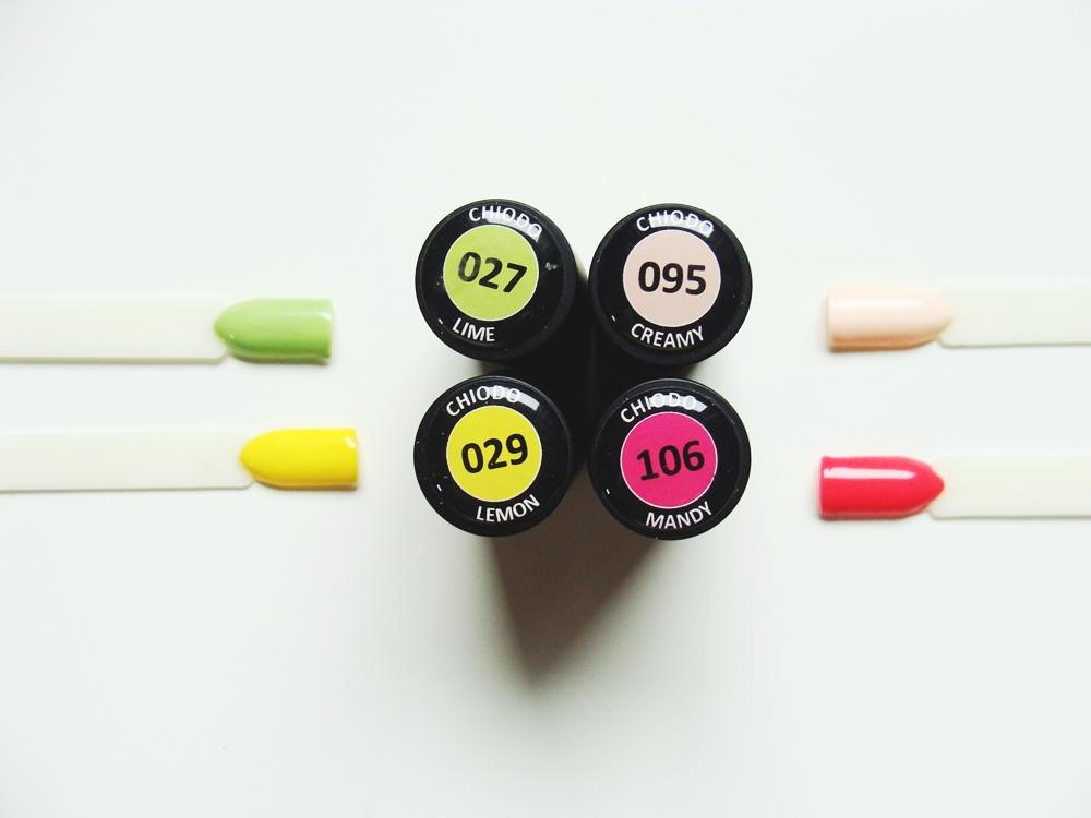 fad2e1e5ef0da ChiodoPRO - lakiery hybrydowe - Pierwsze wrażenie i prezentacja kolorów