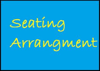 Seating arangment mcq