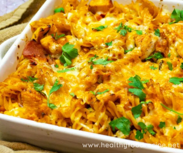 SYN FREE CHICKEN AND BACON PASTA BAKE RECIPE