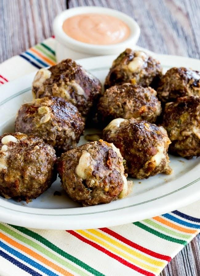 Bacon Cheeseburger Meatballs | Photo Courtesy of Kalyn's Kitchen
