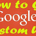 How To Get Google Plus Custom URL Address