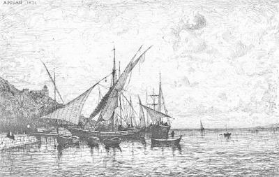 The Port of Monaco; Adolphe Appian