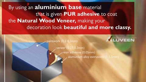 Aluminium Veneer ALUVEEN