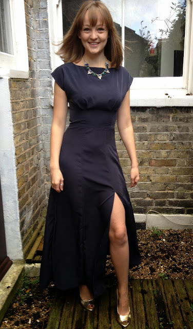 Diary of a Chainstitcher Silk Crepe de Chine By Hand London Anna Dress Sewing Pattern