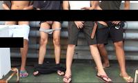 [575] Four boys handjob