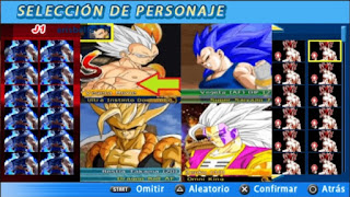 NUEVA ISO DBZ TTT MOD AF CON MENÚ PERMANENTE Y MUCHOS PERSONAJES [FOR ANDROID Y PC PPSSPP]+DOWNLOAD