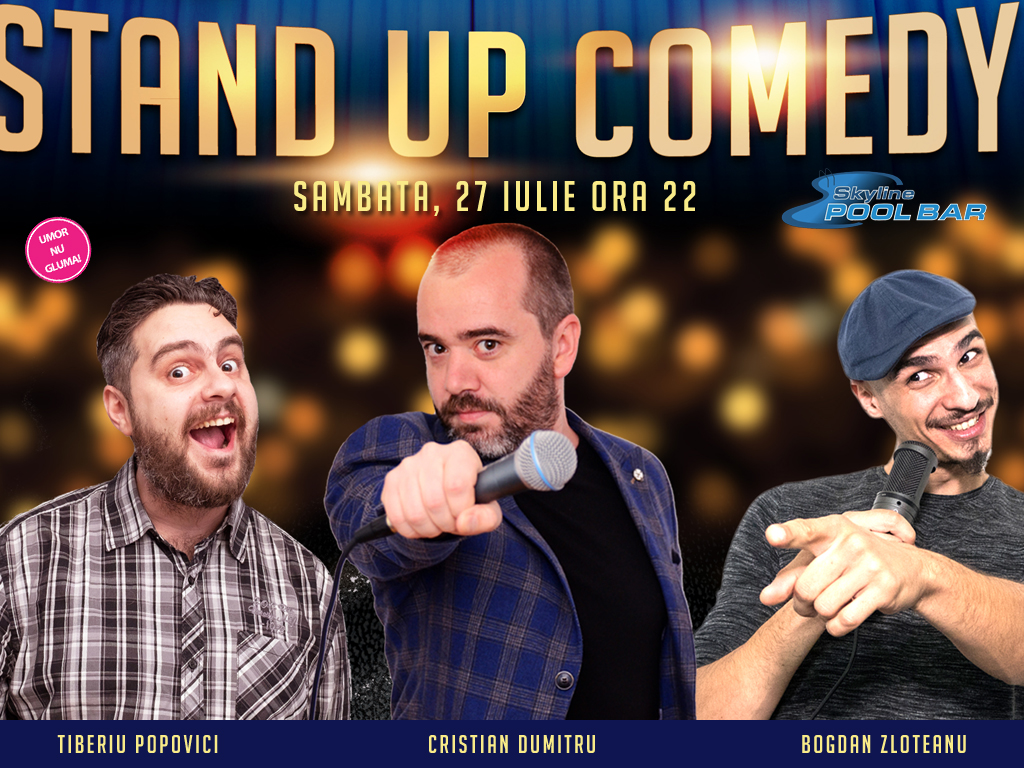 Stand-Up Comedy Romania Sebes 27 Iulie 2019