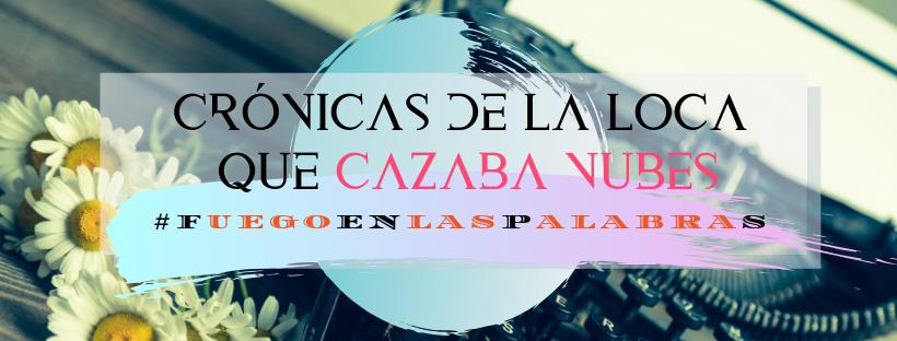Cartel oficial del reto #Fuegoenlaspalabras