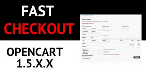 Opencart Fast Checkout