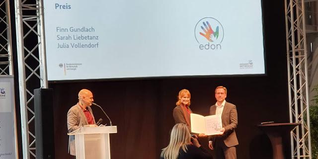 EMO Hannover 2019 - edon wurde ausgezeichnet