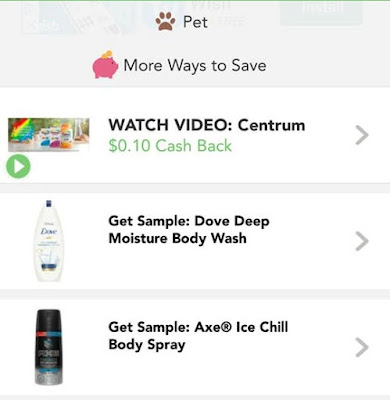 Free Dove Sample offer from Checkout51