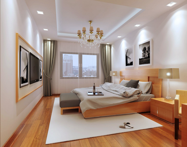 Beautiful Contemporary Master Bedroom