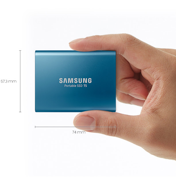 Samsung Launched T5 Portable External SSD