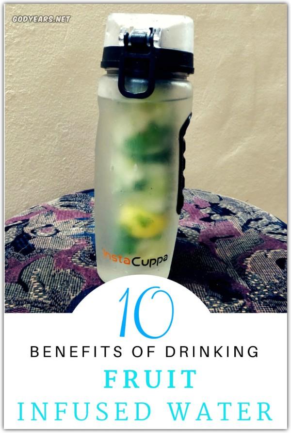 Benefits of Having Fruit Infused Water #Instacuppa #SuperBloggerChallenge2018