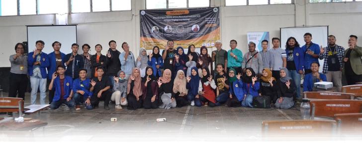 foto bersama saat  Workshop Membangun Bisnis di Era Revolusi Industri 4.0 dengan Digital Marketing - Fakultas Pertanian Universitas Winaya Mukti