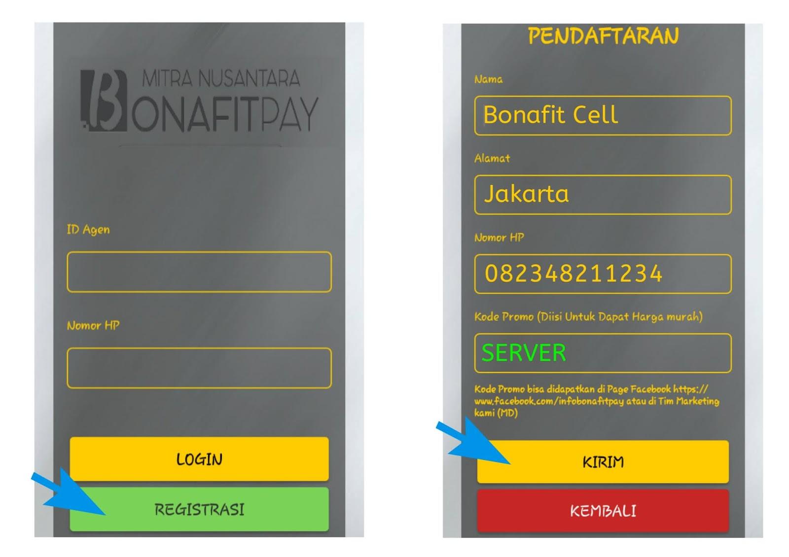 Aplikasi Bonafit Payment