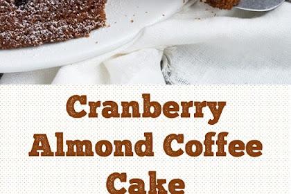 Cranberry Almond Coffee Cake