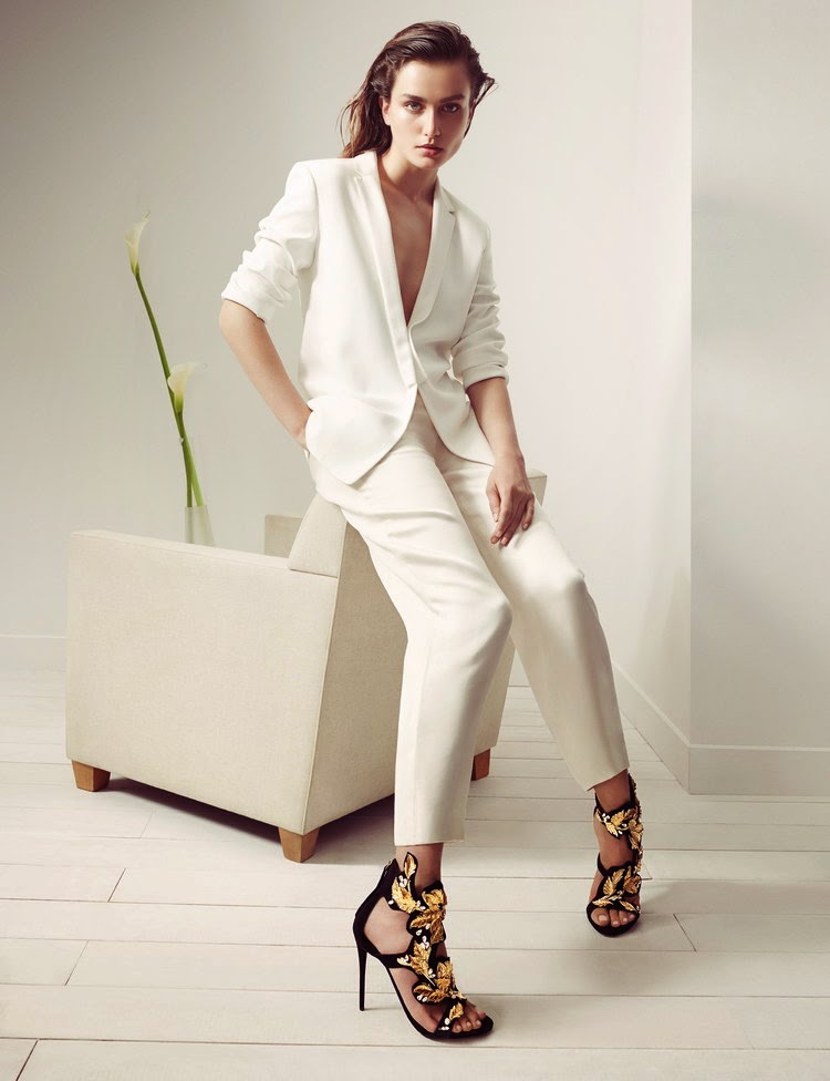 Andreea Diaconu for Giuseppe Zanotti Fall 2014 - Cool Chic Style Fashion