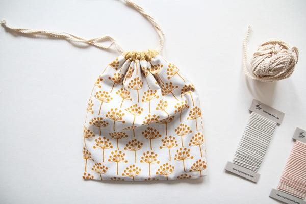 Drawstring Bag Tutorial ~ DIY Tutorial Ideas!