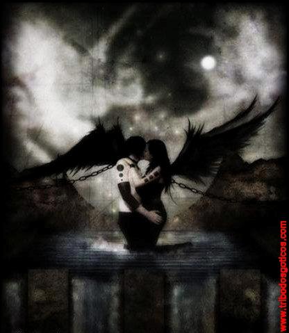 anjos,namorados,assas,preta,corentes,noite