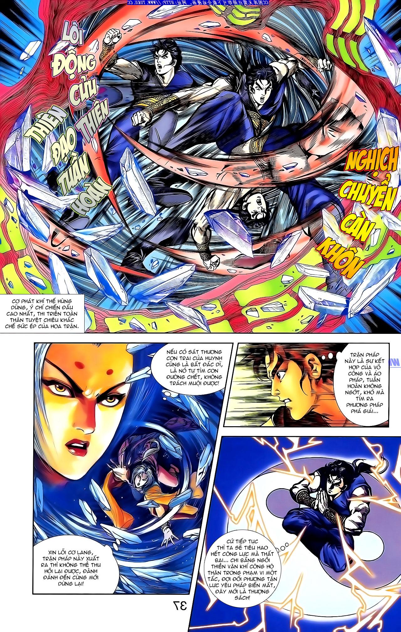 Cơ Phát Khai Chu Bản chapter 143 trang 20