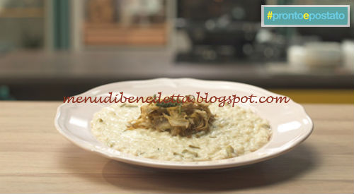 Pronto e postato - Risotto ai carciofi croccanti ricetta Benedetta Parodi