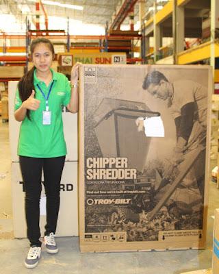 Thailand Garden Shredder delivery