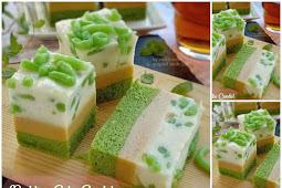 Resep Pudding Cake Cendol Lezat dan Mudah