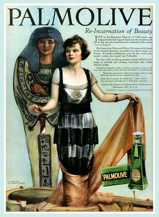 Palmolive Soap, ad 1920