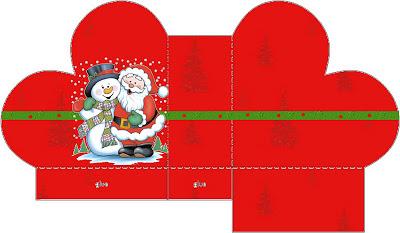 Новогодние и рождественские распечатки для кукол
