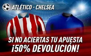 sportium Promoción Atlético vs Chelsea 23-2-2021