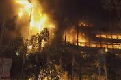 Kondisi Gedung Kejagung Terbakar Pagi Ini, Polisi Bakal Olah TKP setelah Proses Pendinginan