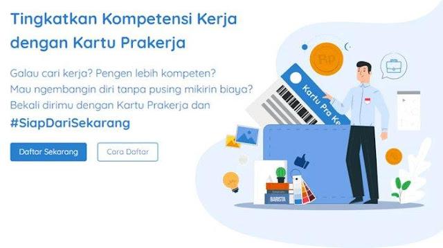 Login www.prakerja.go.id, Berikut Tata Cara dan Syarat Daftar Kartu Prakerja Gelombang 6