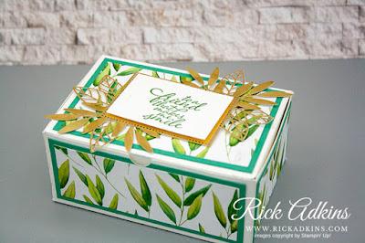 Forever Fern Stamp Set, Forever Greenery Designer Series Paper, Forever Gold Laser Cut Specialty Paper, Sneak Peek, Rick Adkins, Stampin' Up!