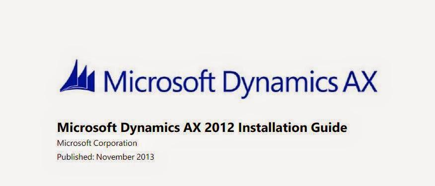 Microsoft dynamics ax 2012 r3 (cu8) cumulative update 8.