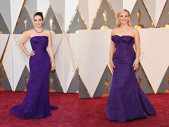 Oscar 2016: Tina Fey e Reese Whiterspoon (foto: Getty Images)