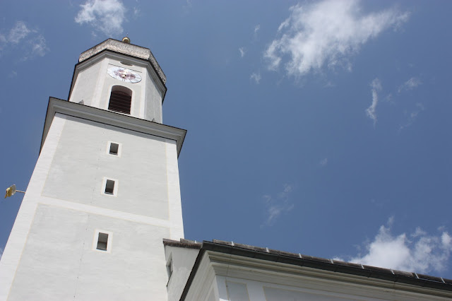 Hochzeit - Katholische Trauung in der Pfarrkirche St. Martin Garmisch-Partenkirchen Mai 2016 - Catholic church wedding in Garmisch, Bavaria, St. Martins church