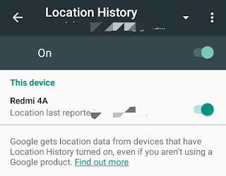 Location history, opinion, Google opinion rewards