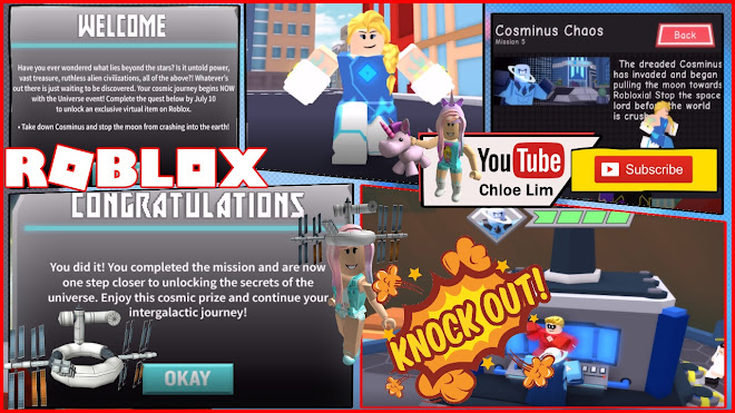 Roblox Heroes of Robloxia Gameplay! Mission 5! Getting the Event Item Satell-Hat warning LOUD SCREAMS!
