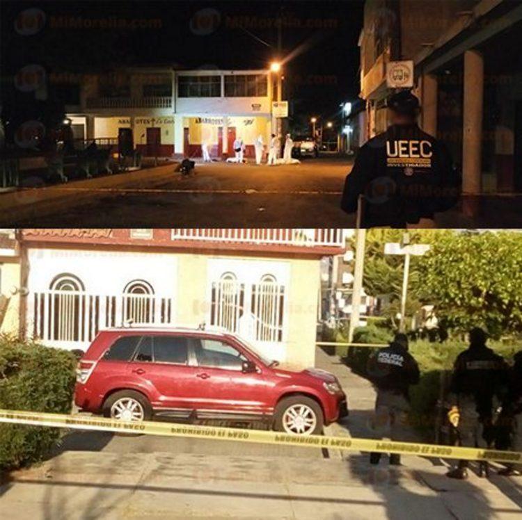 Ataques armados dejan cuatro ejecutados en  Morelia, Michoacán