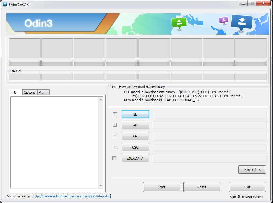 Samsung Odin | SamFirmware Net - Get the Latest Official Firmware