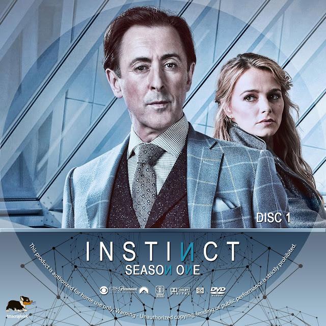 Instinct Season 1 Disc 1-4 DVD Cover