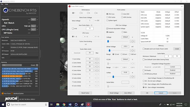 Asus Zenbook UX333FN Undervolting