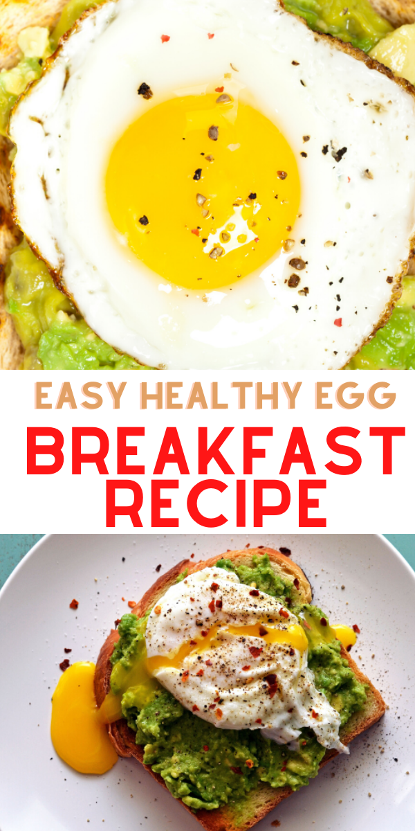 easy healthy egg breakfast recipe