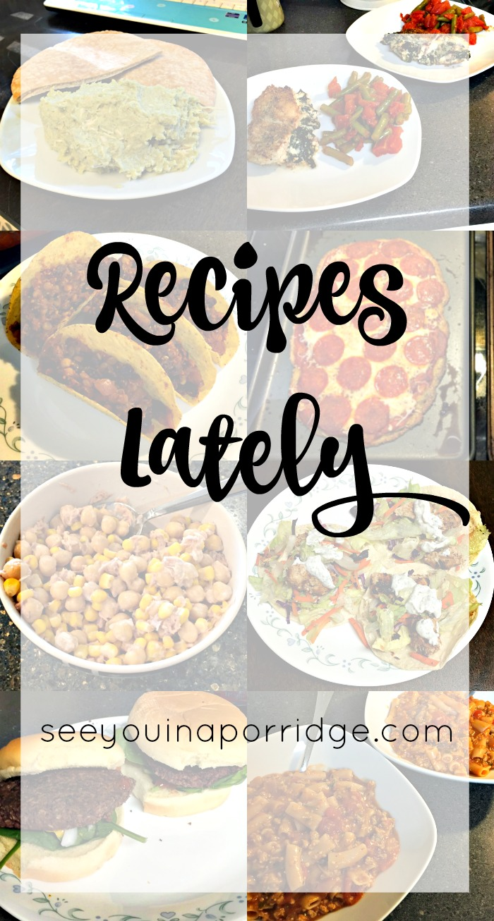 Recipes I've Tried Lately