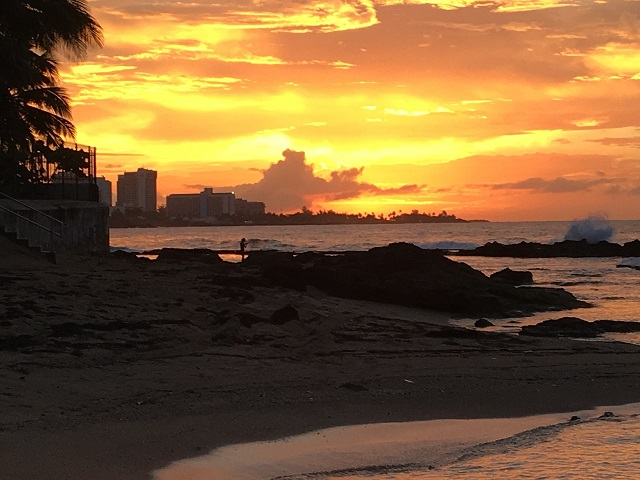 Tropical sunsets are gorgeous!