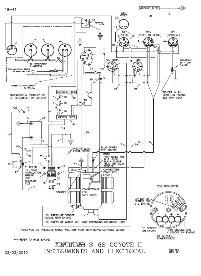 rotax 583 wiring diagram