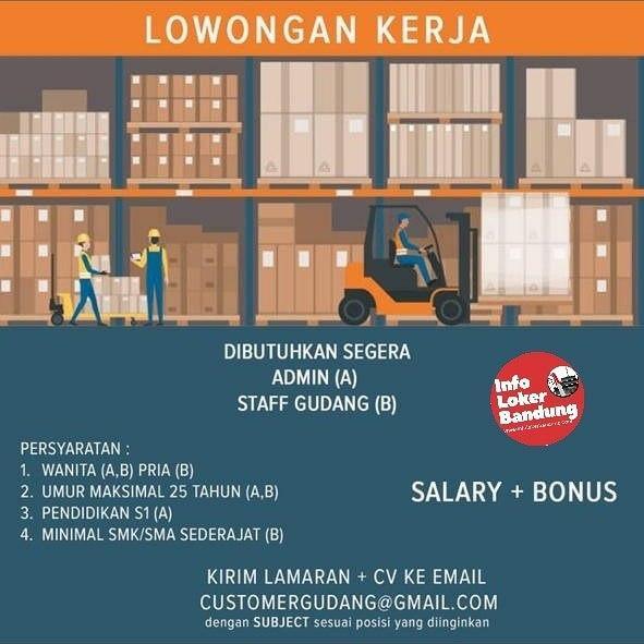 Lowongan Kerja PT. Berkah Alam Semesta Bandung Januari 2020